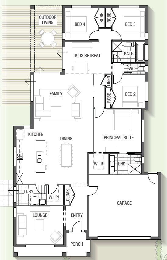 plan de maison jeux