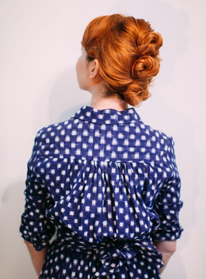1001 + idées comment faire un chignon décoiffé | Bun hairstyles for long hair, Funky hairstyles ...