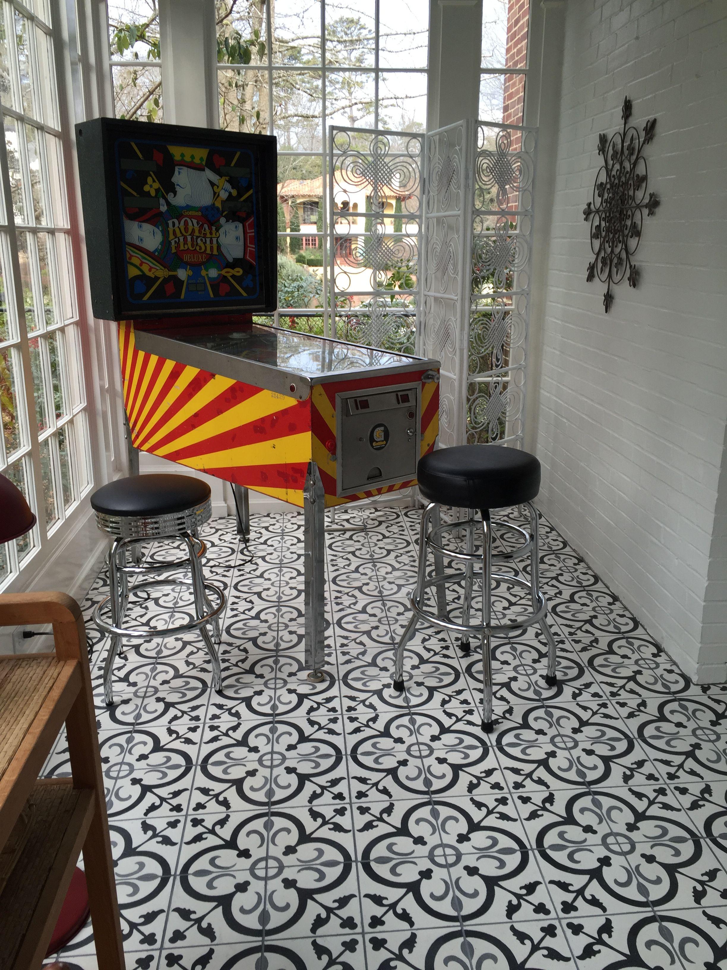 Black Gray La France Concrete 8x8 Tile View More At Arketype Us