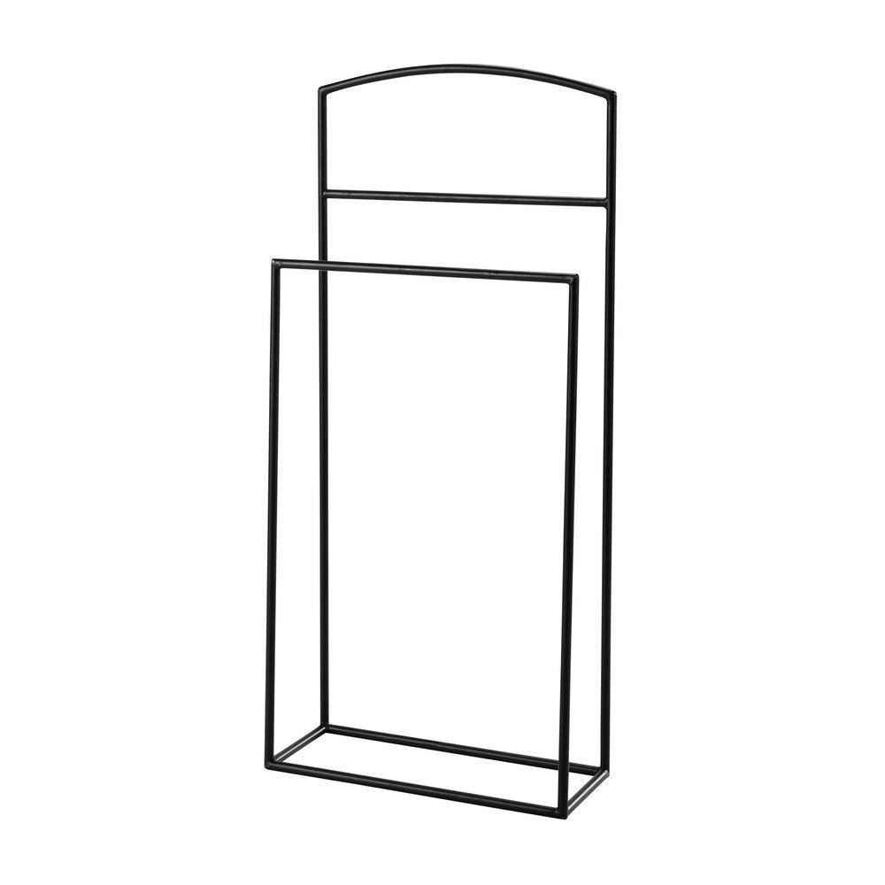 Galán de metal negro | Llar | Valet stand, Bedroom, Attic rooms