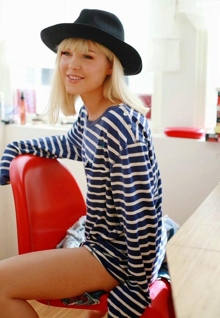 Norwegian blogger Ulrikke Lund / If Marilyn Would Live In Nowadays / fashion / style