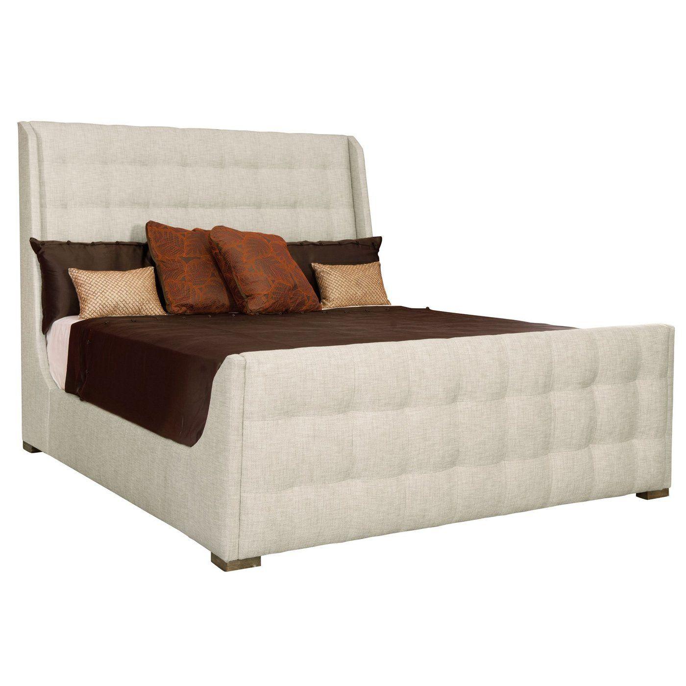 Lysander Upholstered Sleigh Bed Upholstered sleigh bed
