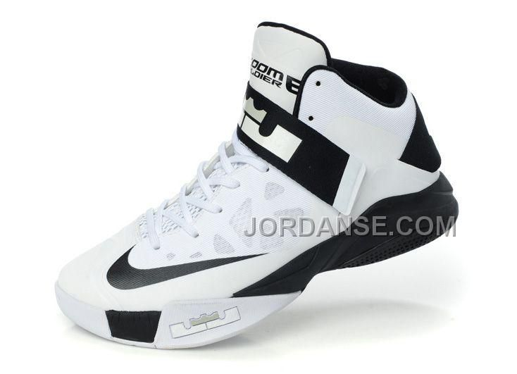 d74c23fb49d6 NK ZOOM LEBRON SOLDIER 6 WHITE BLACK SALE ONLINE FOR FALL