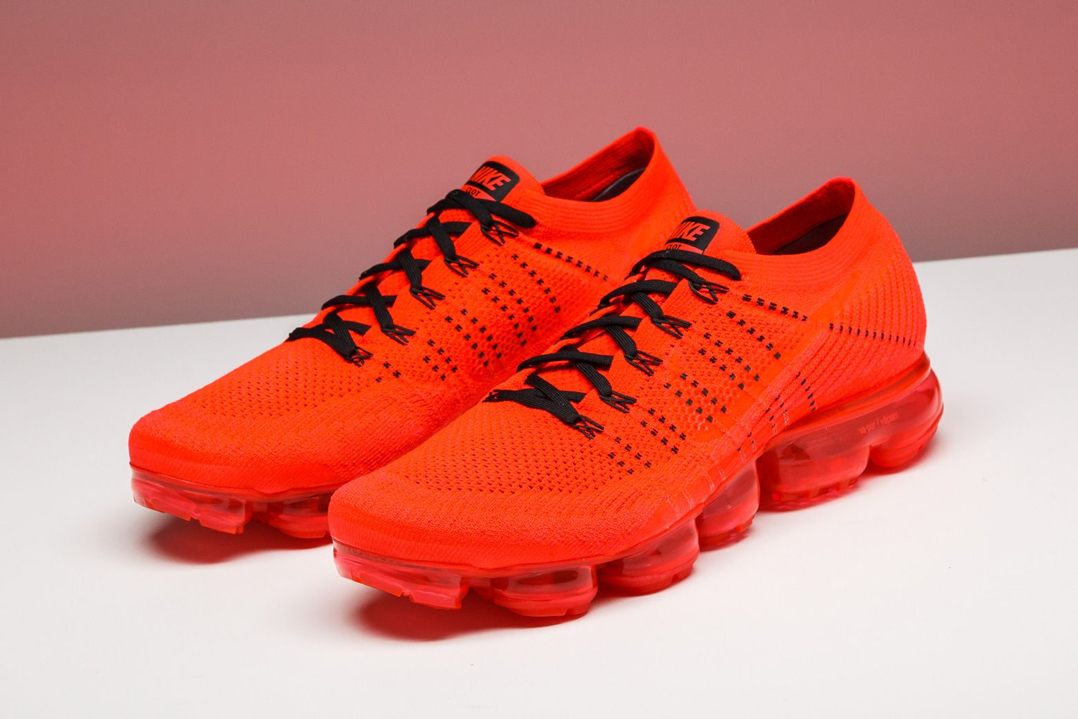 6a211c82d8c The great minds at CLOT designed this vibrant red version of the Nike  VaporMax.