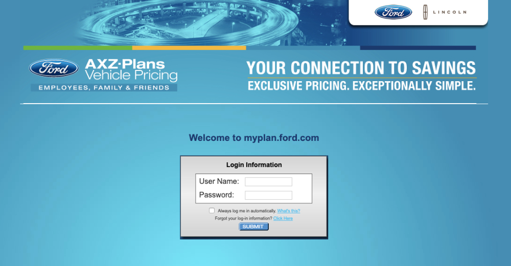 Myfordbenefits Com Login Page Myfordbenefits Login Retirees
