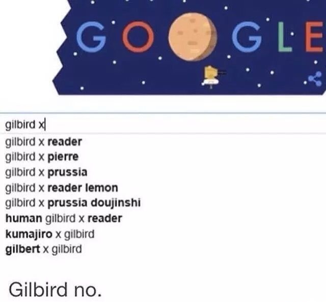 Gilbird what are you doing!
