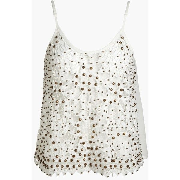 ASTR Studded Crochet Tank and other apparel, accessories and trends. Browse and shop 8 related looks.