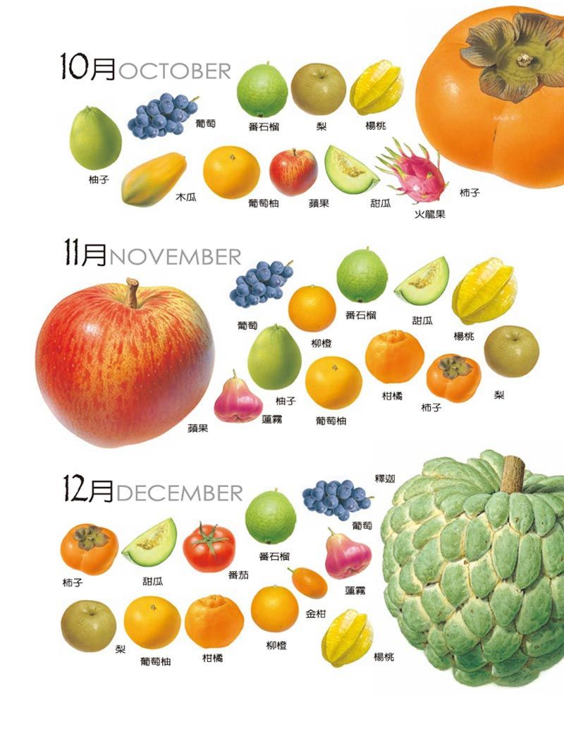 Taiwan Fruit- Oct  & Nov  & Dec  | TAIWAN Fruit in 2019