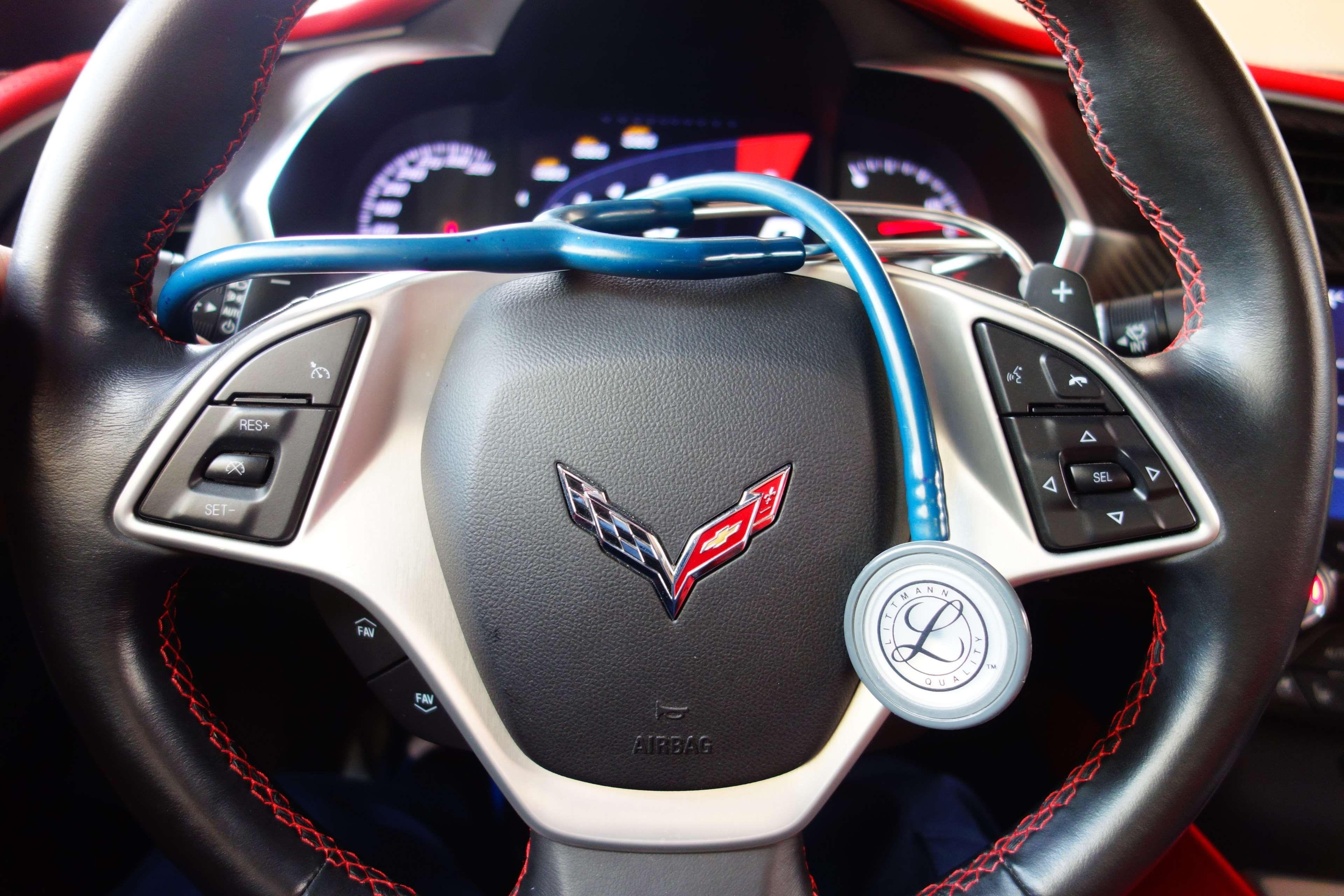American Car Black C7 Car Car Interior Corvette Corvette C7 Dashboard Doctor Instrument Interior Medical Red Sport Stee Corvette C7 Corvette Car