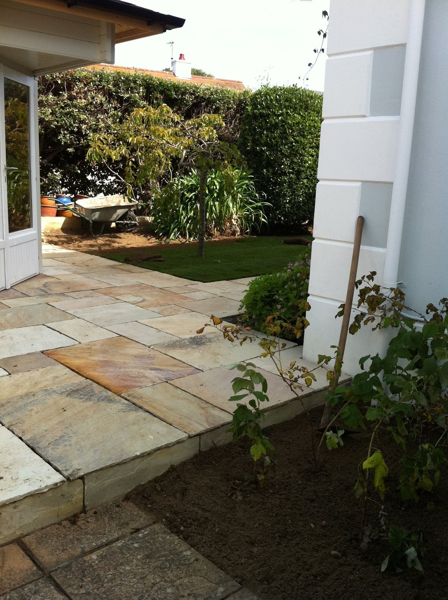 Indian Sandstone Paving Mint Fossil Patio Pack