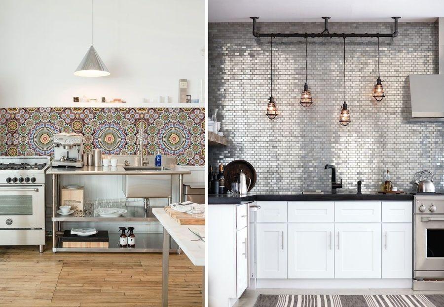 Mosaicos en cocina modernas | Decoración de cocinas | Pinterest ...
