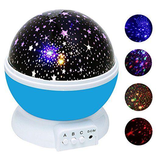 Weihnachten, Weihnachtsgeschenk für Kinder, Sternenhimmel - lampe für schlafzimmer
