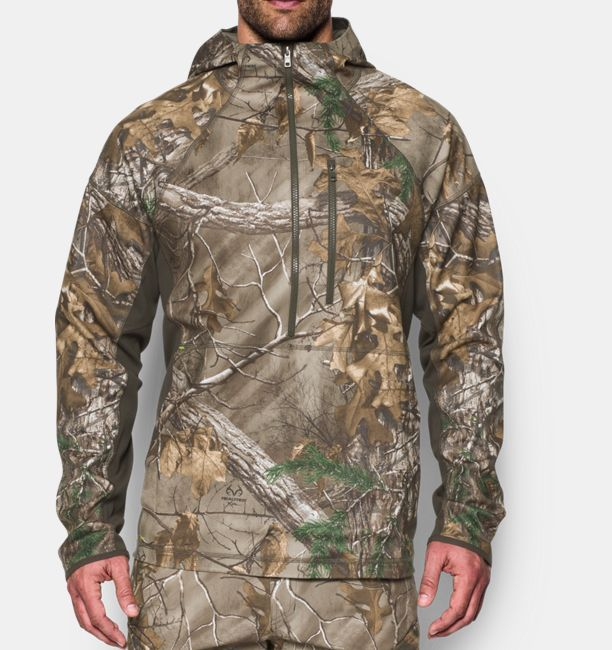 31b120c765 Men's UA Storm Early Season ½ Zip Jacket | Hunting Gear | Hunting ...