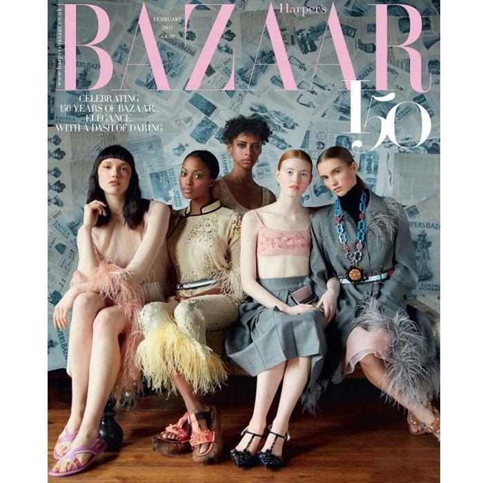 Harper's Bazaar UK Fev 2017