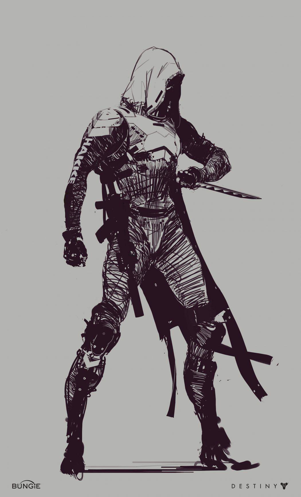 Destiny 2 Concept Art By Ryan Demita Concept Art Pinterest
