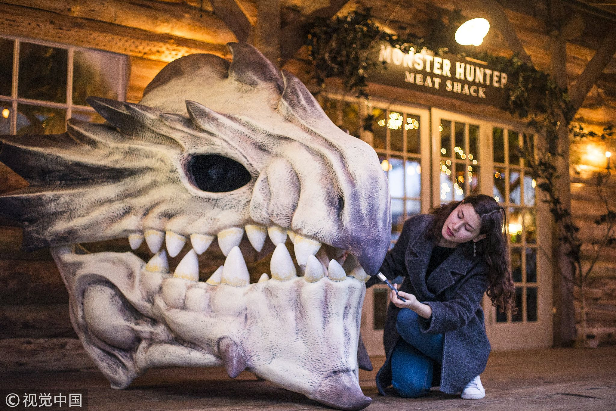 Visitors Can Immerse Themselves In A Mythical World At The Monster