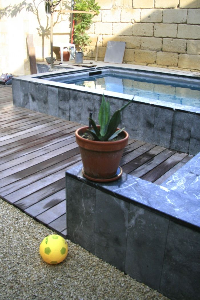 piscine-4jpg disgn and art Pinterest Small pools, Swimming - jacuzzi exterior