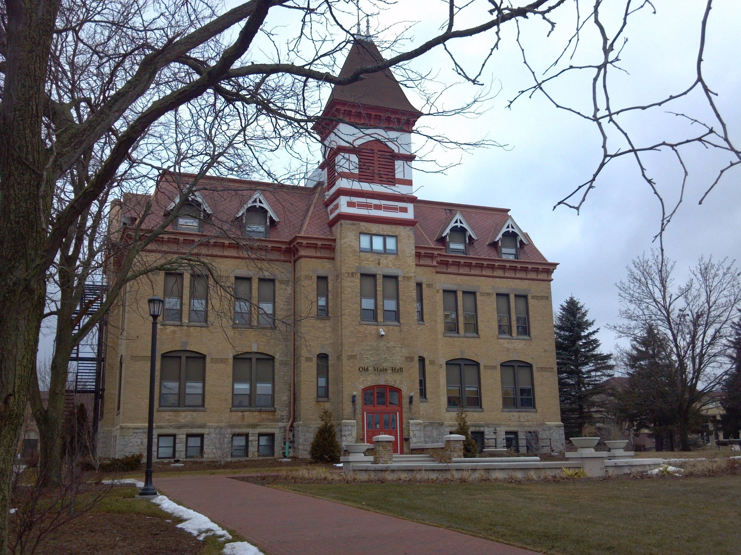 Old Main, March 1, 2012.