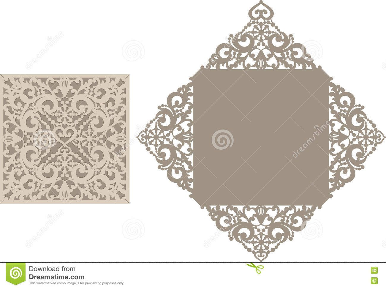 Laser cut envelope template for invitation wedding card download laser cut envelope template for invitation wedding card stock vector image 73943492 stopboris Choice Image