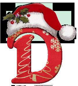 Alfabeto Gorrito Papa Noel Mayuscula D Letras Feliz Navidad Letras De Fieltro Arte De Navidad