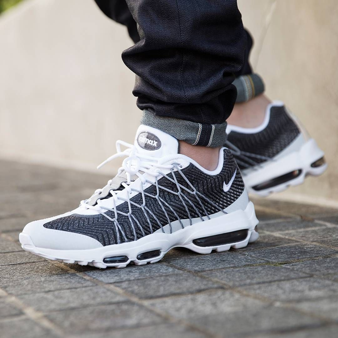nike air max 95 ultra jacquard white