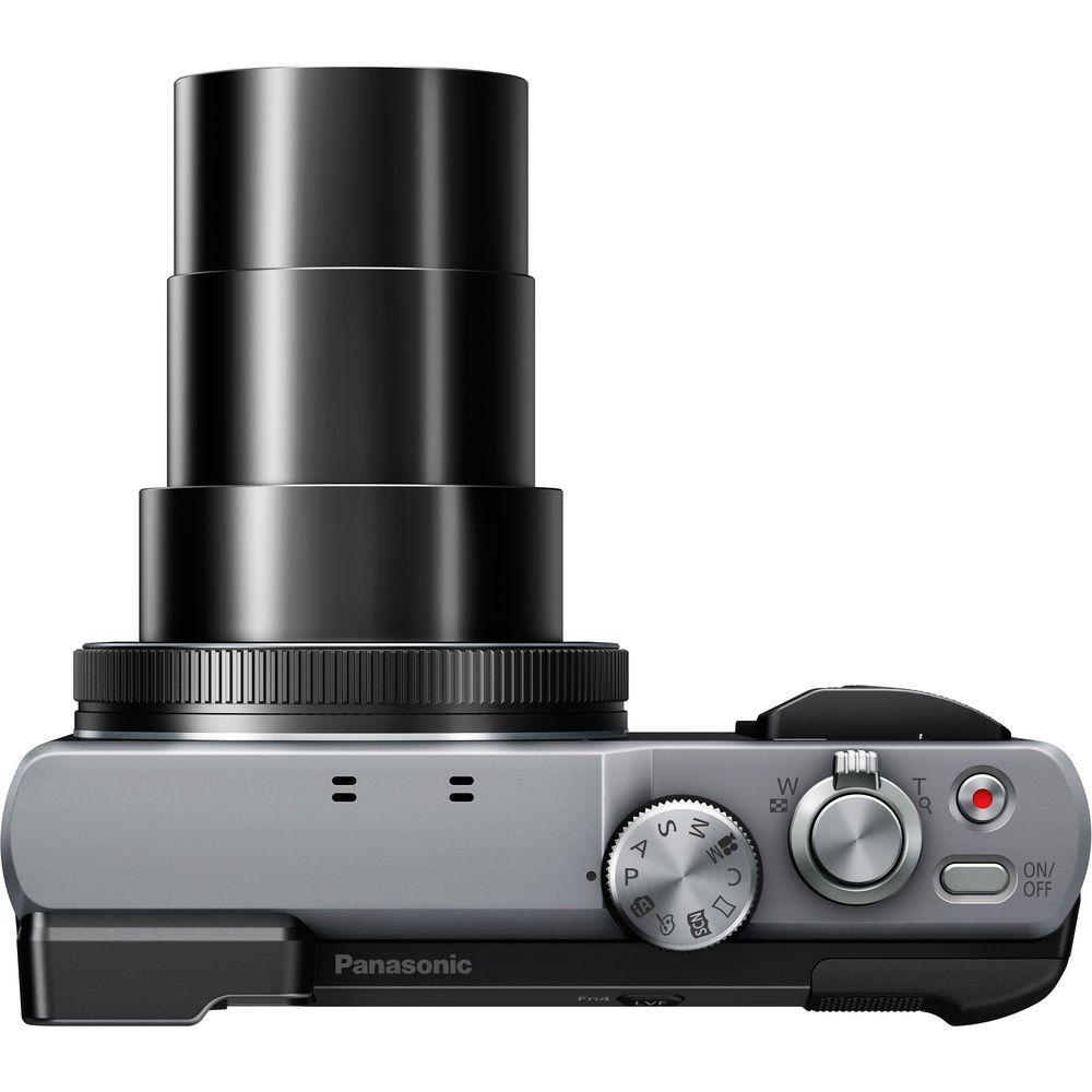 Panasonic Lumix DMCZS60 Digital Camera Silver 16GB Bundle