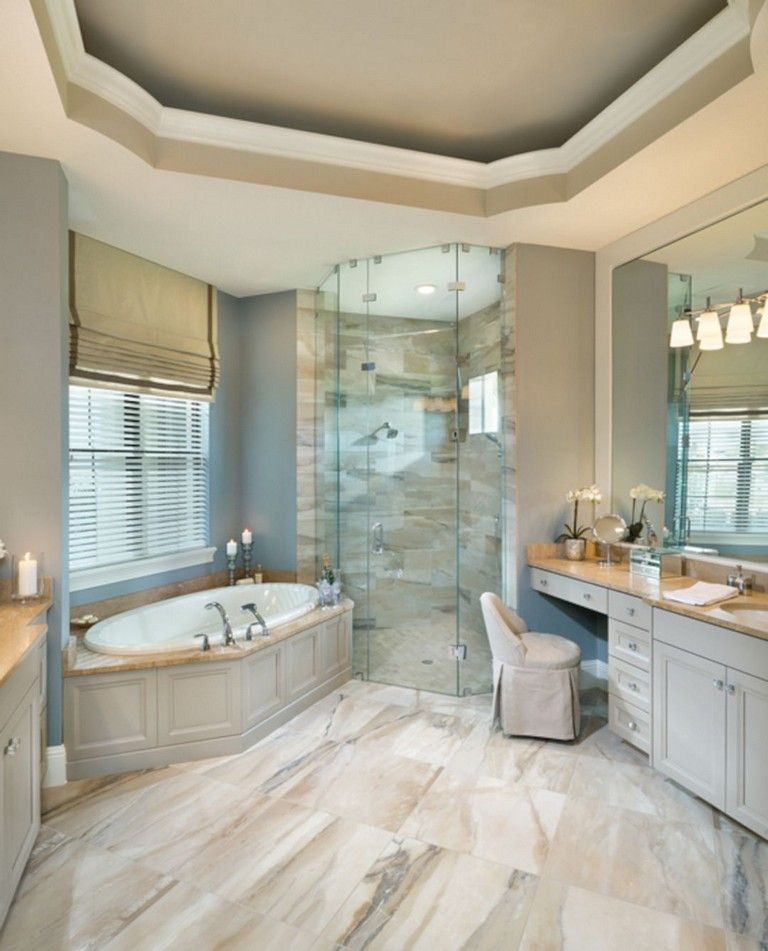 65 Elegant Master Bathroom Design Ideas For Amazing Homes