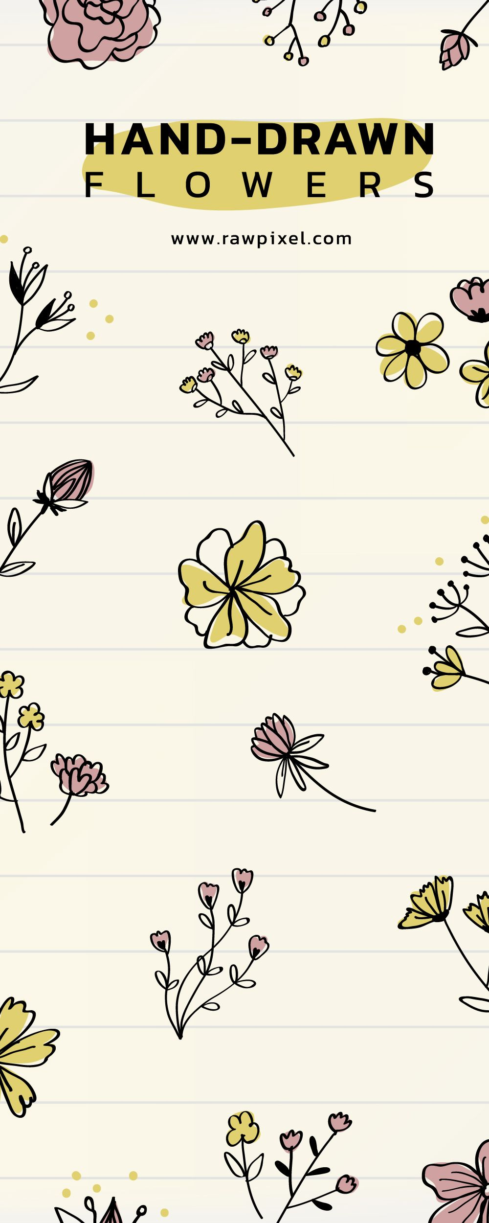 Download Beautiful Free And Premium Royalty Free Hand Drawn Flowers Vectors As Well As Stock Photos Psd M How To Draw Hands Flower Drawing Hand Drawn Flowers