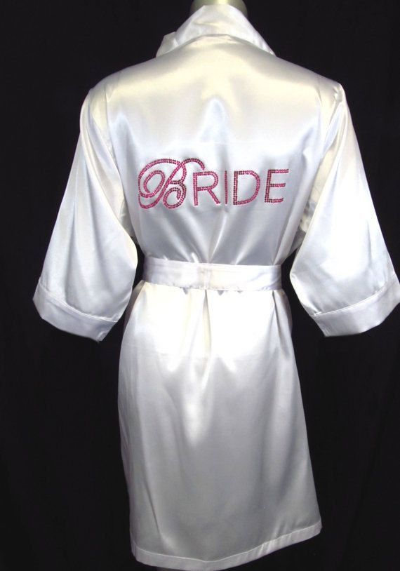 Double Bling Bride in Sparkling Rhinestones and Luxurious Silky Satin