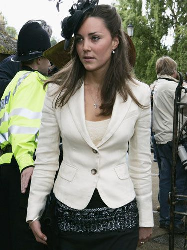 Kate Middleton Attending As Beau Prince William S Date Donned One Festive Hat At The
