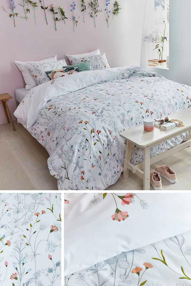 Bettwäsche Colorful Garden Bringt Den Sommer In Dein Bett