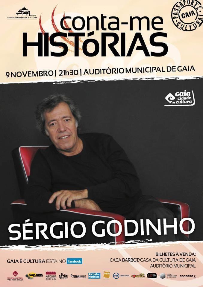 Estejam atentos à agenda cultural da nossa cidade!!! Sérgio Godinho, em Vila Nova de Gaia, 9 de Novembro, 4€ (!)... Lotação esgotada! Porto2C irá alertar atempadamente este tipo de eventos!