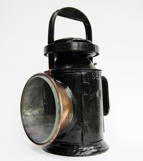 North British Railway 3 Aspect Railway Lamp Faroles Antiguos Faroles