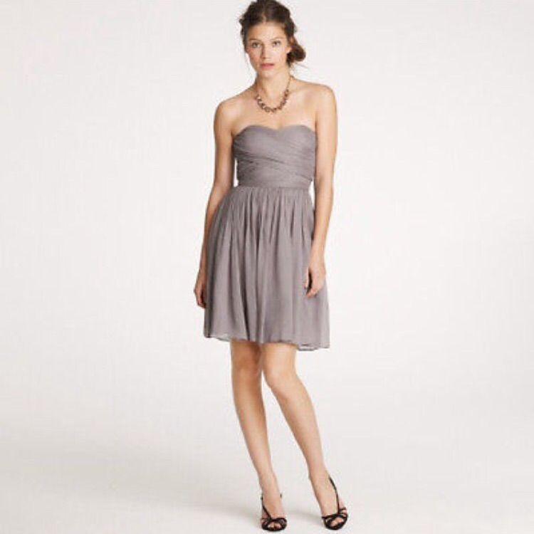 J. Crew Arabella Silk Chiffon Bridesmaids Dress   Pinterest   Products