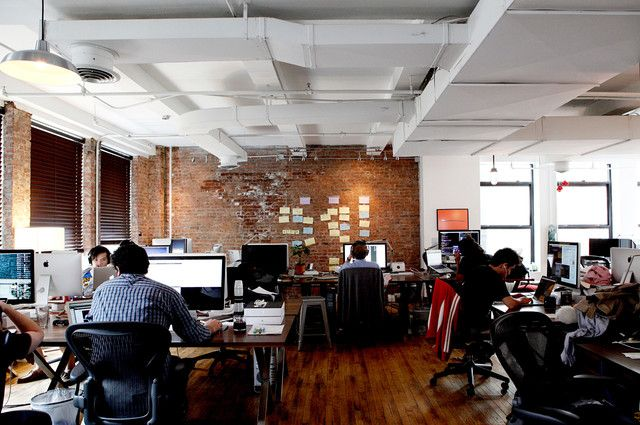 new york office space Google FLAT Pinterest Office