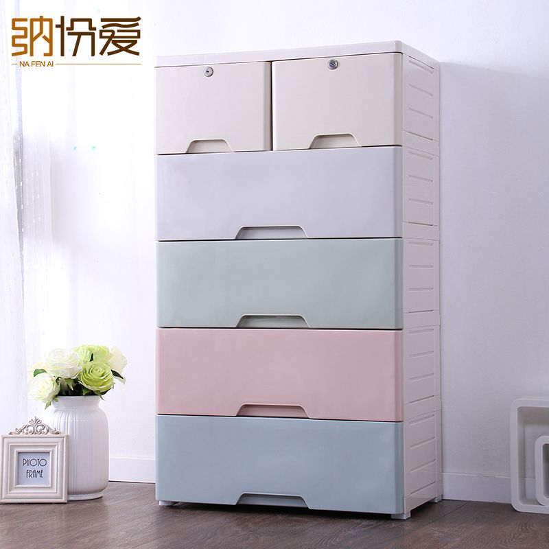 Clear Plastic Stackable Home Storage Boxes Container Organizer Bin Storage Drawer Organizer Storage Plastic Box Locker Storage Organizing Bins Storage Bins