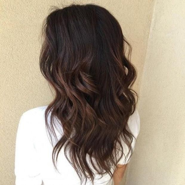Caramel Balayage On Black Hair Black Hair Balayage Hair Styles Balayage Hair