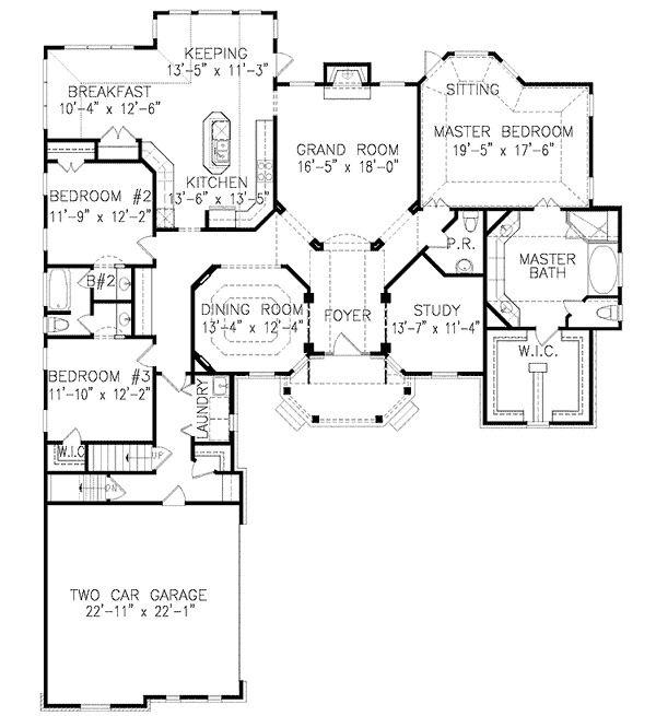 Plan 15741GE: Craftsman Detailing