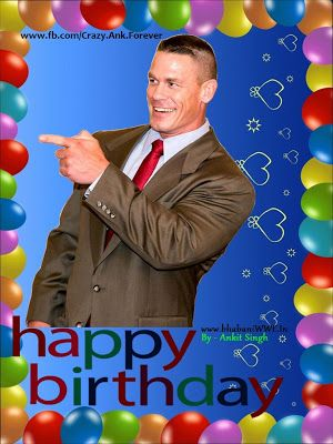 7f773df5fe4e5e92a6dc15b1d4f4c758 wwe control john cena happy birthday wwe john cena wrestling