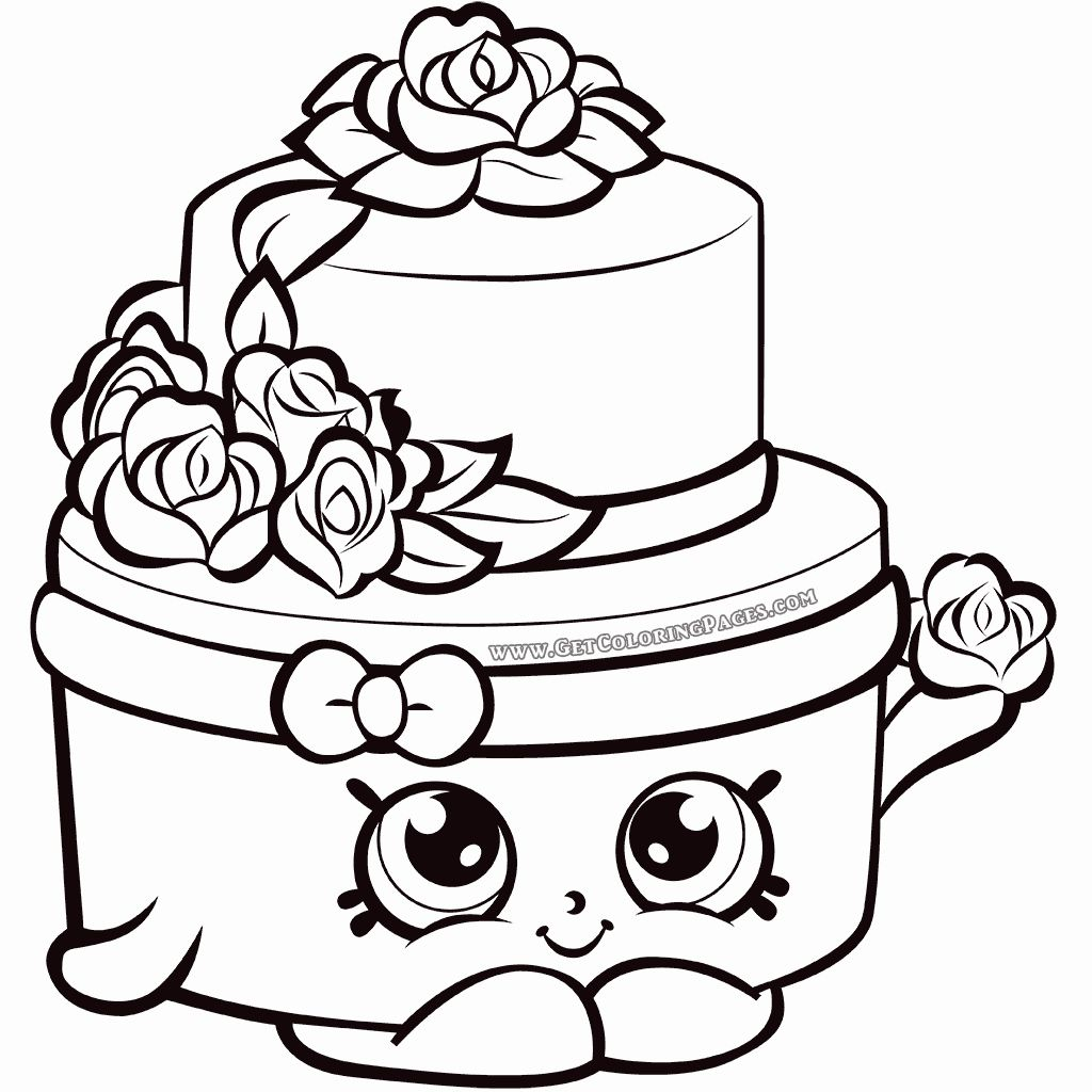 Shopkins Coloring Pages for Kids in 2020 | Shopkin ...