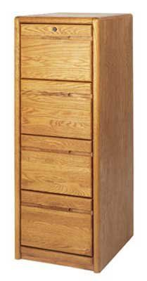 Oak 4 Drawer Vertical File 799 00 Top Drawer Locks Holds Letter Or Legal Files Deluxe Telescoping Full Extension Filing Cabinet Martin Furniture Cabinet