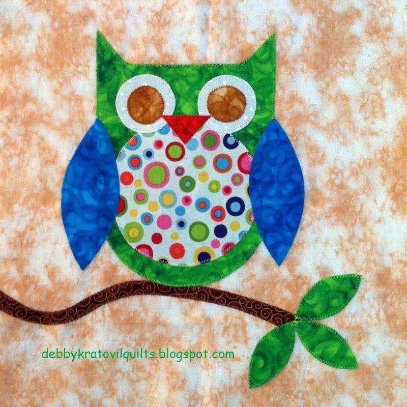 Quilt Inspiration: Free Pattern Day: Owls ! | Quilts - Birds ... : owl applique quilt pattern - Adamdwight.com