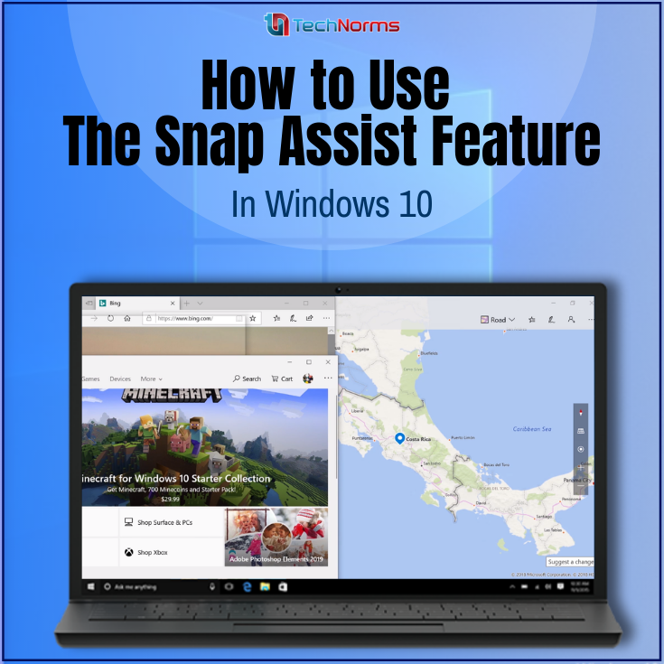 How to Use the Snap Assist Feature in Windows 10 Windows
