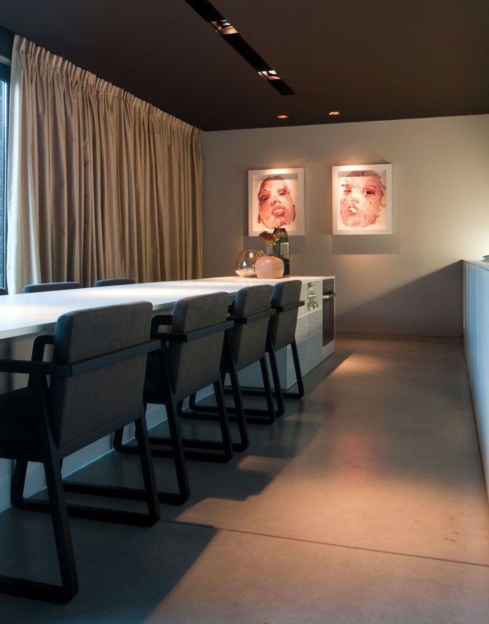 Maison contemporaine am nagement design int rieur for Amenagement interieur maison contemporaine