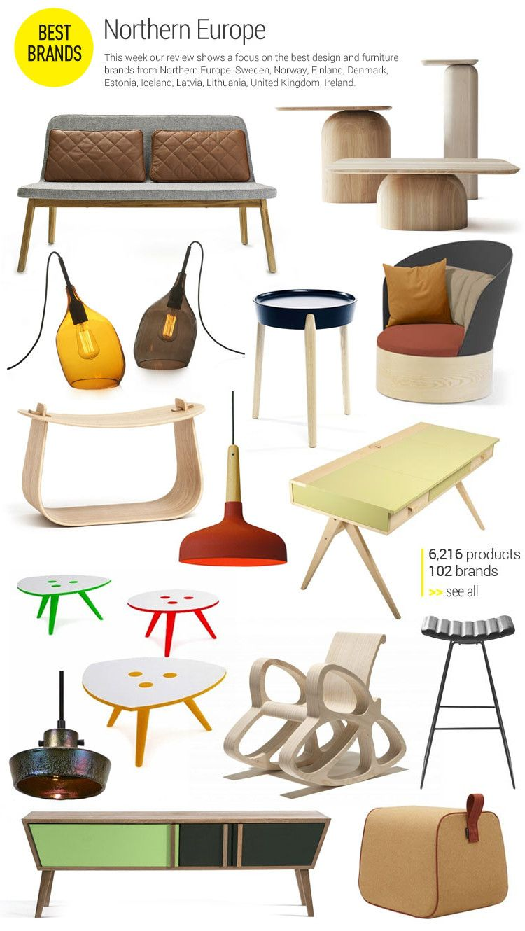 Focus On Northern Europe This Week Our Review Shows A Focus On The Best Design And Furniture Northern Europe Interior Nordic Furniture Scandinavian Interior