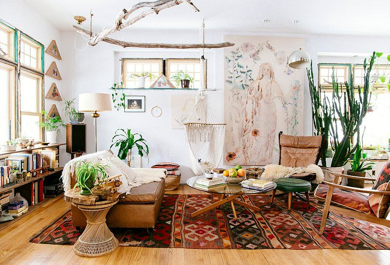 Beau Boho Living Room