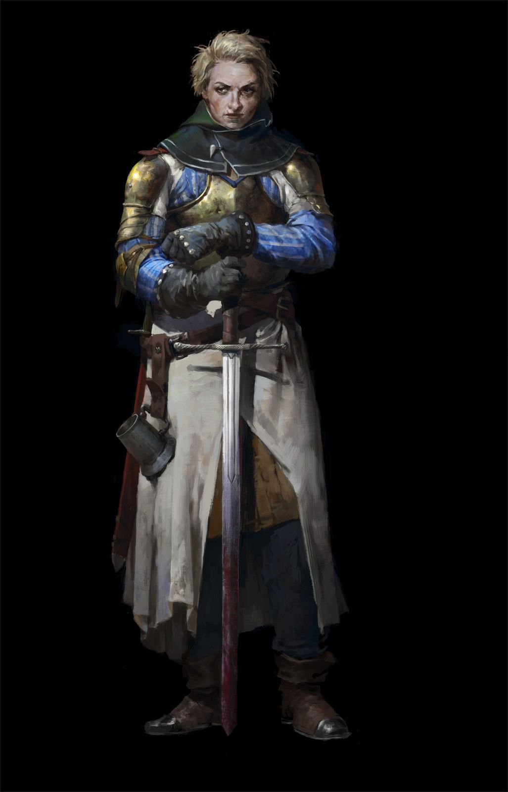 Knight, cg_ sister on ArtStation at https://www.artstation.com/artwork/e34lJ