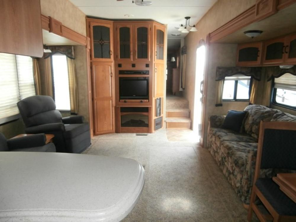 used 2008 keystone montana fifth wheel trailer for sale in kingston ny kin563947 camping. Black Bedroom Furniture Sets. Home Design Ideas