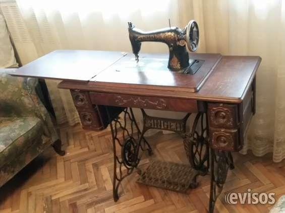 Maquina de coser Singer antigua funcionando | Máquinas de