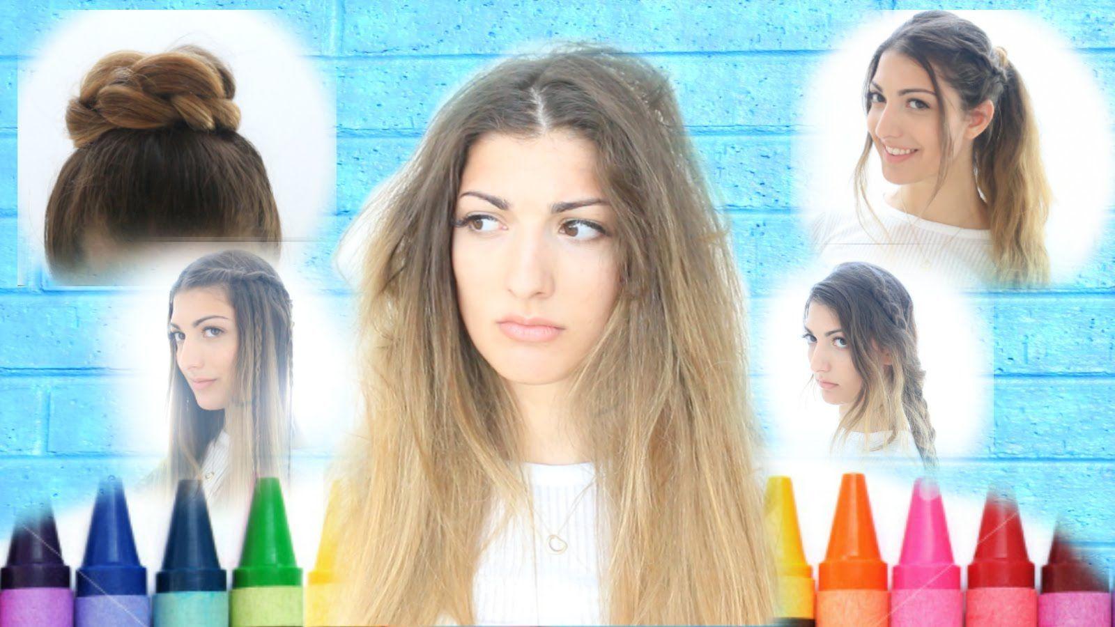 Kurzhaar niedlich zurück zu schule frisuren für kurze haare